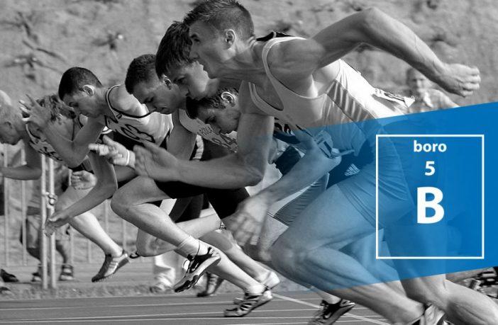 boro competición corredores