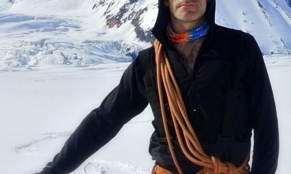 escalador montaña