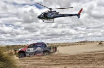 desierto competición coches